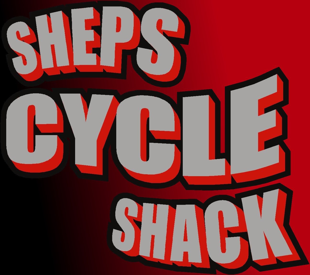 Sheps Cycle Shack in red & black